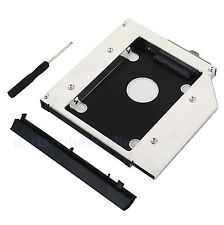 2nd 2.5 HDD SSD Caddy Disco Duro Caja para HP EliteBook 6930p 8440p 8530p 8540p