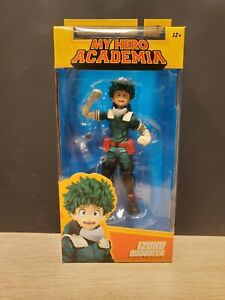"NEW 2021 McFarlane My Hero Academia IZUKU MIDORIYA Deku 7"" Action Figure"
