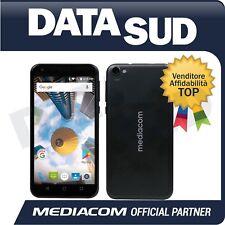 SMARTPHONE MEDIACOM PHONEPAD DUO S5 NERO/BLACK - LTE - ANDROID 7.0 - M-PPAS5