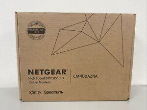 NETGEAR DOCSIS 3.0340Mbps Cable Modem CM400-1AZNAS