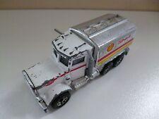 Shell Tanker Peterbilt - # I-80 - 1981 - Matchbox Lesney - White - Thailand