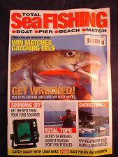Total Sea Fishing Magazine - Aug 1998 - Eels - Wrecks - Tope - Rocks Breakwaters