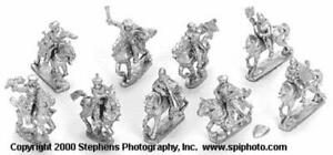 Old Glory Mongols in Europe 25mm  Hungarian Mounted Command w/War Bish Pack New