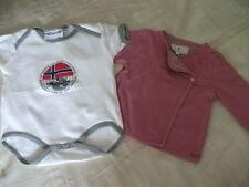 Orig. Bellybutton - 2-teiliges Baby-Set Jäckchen und Body Gr. 62 fast neu