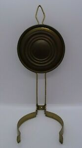 Vintage Oil Lamp Wall Hanger with Reflector