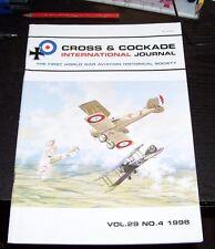CROSS & COCKADE GREAT BRITAIN JOURNAL VOL 29 No 4  1998 35 SQN RFC RAF BE 2c