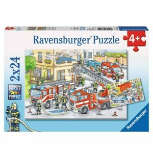Ravensburger - Heroes in Action 2x24 pieces Jigsaw Puzzles 4+