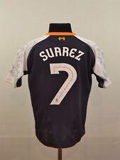 Liverpool 3rd Suarez shirt S Small 2012/2013 Gerrard Mane Coutinho Klopp Warrior