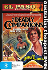The Deadly Companions DVD NEW, FREE POSTAGE WITHIN AUSTRALIA REGION 4