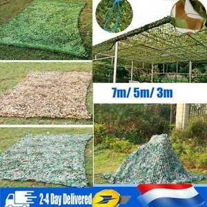7m / 5m / 3m Jungle Filet de Camouflage net Chasse Camping militaire For t hide