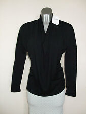 Wolford Cool Wool Shirt 52504 Top XS in Black (7005)