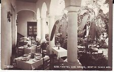 Mexico Taxco - Hotel Los Arcos old real photo postcard