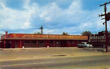NC - 1950's Johnson's Restaurant Dunn, North Carolina -Harnett County