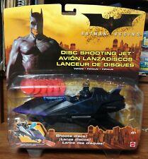 2005 Batman Begins Disc Shooting Jet Action Toy Nos