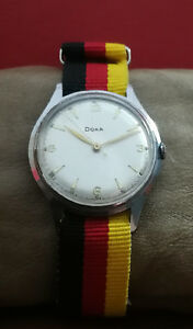DOXA WWII 40's MILITARY 38mm cal.1147 VINTAGE RARE SWISS WATCH.