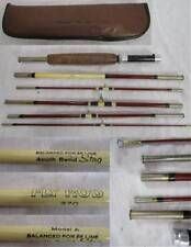 SOUTH BEND STAG MODEL A 370 6pc FLY ROD FISHING ROD w/ case