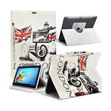 Housse Etui Motif MV11 Universel L pour Tablette Archos 101d Neon