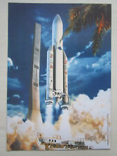 DOCUMENT ARIANESPACE ARIANE 5 RAKETE FUSEE ESPACE SPACE SATELLITE