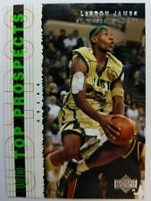 2003 03 Upper Deck UD Top Prospects LeBron James #3, Rookie RC Insert Cavaliers