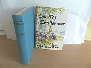 One Fat Englishman BY Kingsley Amis Hardcover With Dustjacket 1963 Like New