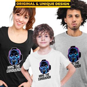 Kang The Conqueror TVA Loki Marvel Comic Hero T-Shirt Kids Adults Funny