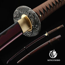 Swords Katana, Japanese Samurai Real Swords Katana Blade Sharp 1045 Carbon Steel