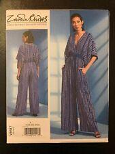Vogue V1617 (Sizes: XS-M)  Z. Rhodes | Misses' Jumpsuit **NEW**