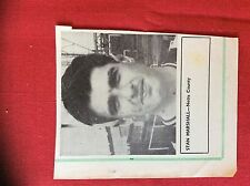 m2M ephemera 1966 football picture stan marshall notts county