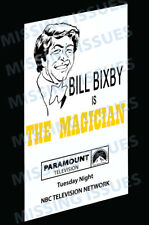 Bill Bixby as The Magician 13x19 Reproduction of Studio Promotional Card!