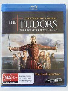 The Tudors : Complete Season 4 (Blu-ray) Australia Region B- NEW & SEALED