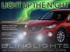 2013-2015 Mazda CX-5 Xenon Halogen Fog Lamps Driving Lights Kit + Harness Switch