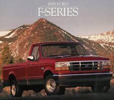 1995 FORD F-SERIES PICKUP TRUCK BROCHURE-F150-F250 HD-F350 DRW-4X4-XL-XLT-DIESEL