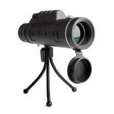 40X60 HD Lens Monocular Telescope Binocular w/Compass+Tripod+Phone Camera Clip