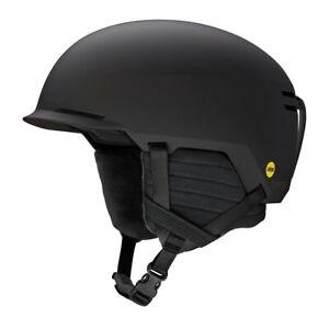 Smith Scout MIPS Ski Snowboard Helmet Adult Large 59-63 cm Matte Black New