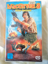 Mac Gyver 3 - Killerameisen - Richard Dean Anderson - CIC VHS Video - FSK 16 xx