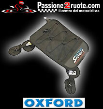 Base Borsa sella posteriore moto scooter Oxford Humpback Porta oggetti