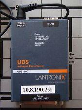 Lantronix UDS1100 Universal Device Server P/N 080-358-001-R