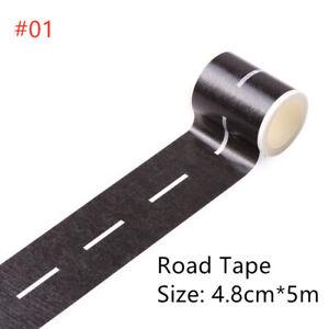 DIY Traffic Rail/Road Washi Tape Car/Train/Curve Stickers Paper Label Adhesive