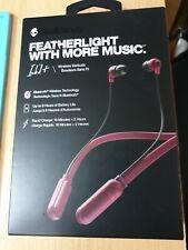 Skullcandy INKD+ Wireless Earbuds Headphones in Black/red. BRAND NEW.