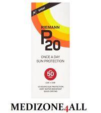 Riemann P20 Once a Day 10 Hour Sunscreen Spf50 Very High Protection 200ml Spray