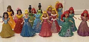 Mattel Disney Princess MagiClip Dolls LOT