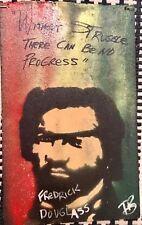 AMAZING ORIGINAL POP ART SIGNED FREDERICK DOUGLAS PAINTING BY TONY B CONSCIOUS