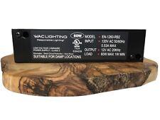 WAC Lighting EN-1260-RB2- Black Remote Power Supply 24 Volt 60W AC - Class 2