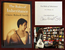 RULES OF INHERITANCE SIGNED by Claire Bidwell Smith - 1st/1st with Event Photos!
