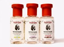 Thayers Witch Hazel Travel Size Variety Pack 3 SCENTS Lavender Cucumber Rose