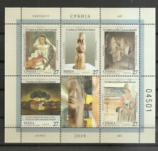SERBIA 2019,ART,PAINTING,BOOKLET,MATISSE,FRANCE,MNH