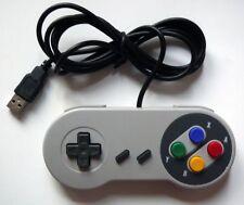 SNES Retro USB Super Nintendo Controller for Windows PC/MAC (acc-247)