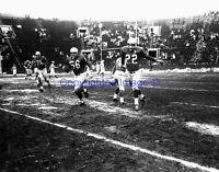Buffalo Bills #56 Archie Matsos #22 Jim Wagstaff 1960 8X10 Photo AFL