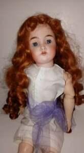 """Antique German 20"""" Kammer & Reinhardt Bisque Head Comp Body Doll  1 KR 49 (?)TLC"""
