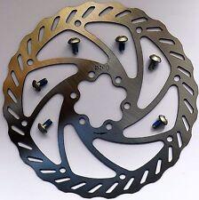 Fahrrad Bremsscheibe Ø 160mm 6-Loch mit 6x Schrauben MTB Faltrad Brake-Disc NEU